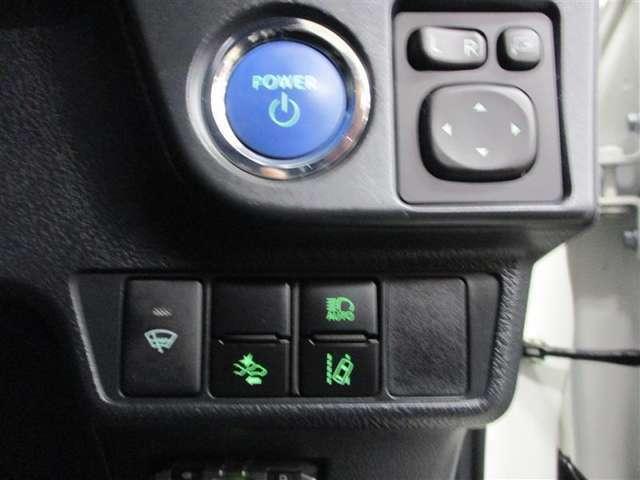 安全装備(運転サポート)のトヨタセーフティセンス付きです。