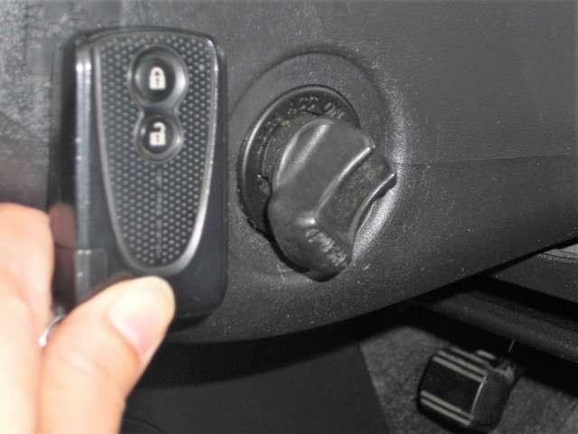 ■キーを挿さずにエンジン始動停止、ドアロック開閉可能です。
