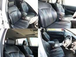 内装のシートも概ね良好ですが走行相応のシワ程度は御座います。