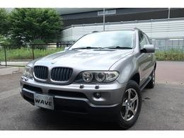 BMW X5 3.0i 4WD ブラックインテリア 正規ディーラー記録簿