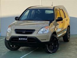 ホンダ CR-V 2.0 パフォーマ iG 4WD ベージュ全塗装済 マットブラックバンパー