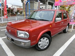 日産 ラシーン 1.5 タイプA 4WD 背面タイヤ HDDナビ CD DVD再生
