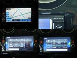ナビ「MC314D-W」を装備しております。道を覚えるのが苦手な人も安心して下さい☆