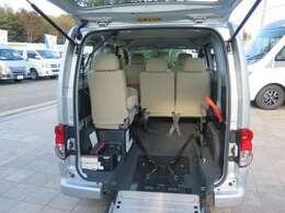 お持ちの車いすを実際に載せて試して下さい