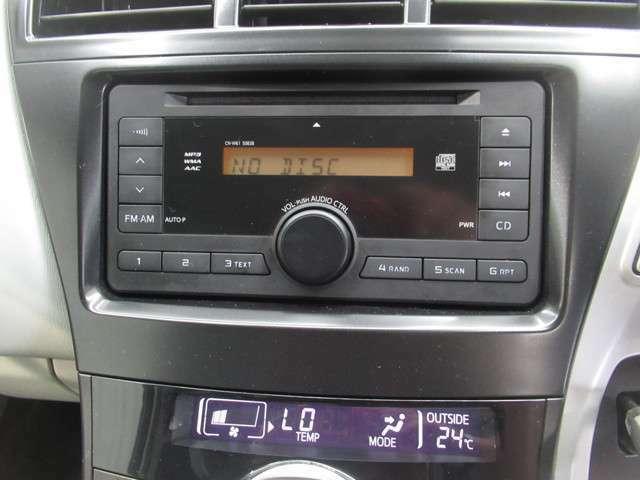 CDが聴けるので、お好きな音楽を聞きながらドライブできますよ(^^♪