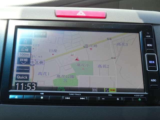 ■ホンダディーラーオプションのギャザズメモリーナビ(VXM-204VFi)!リアカメラ、フルセグTV、Bluetooth付きです!■