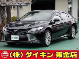 トヨタ カムリ 2.5 G レザーパッケージ ナビTV 本革 セーフティセンス BSM