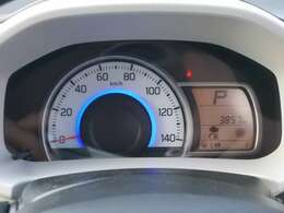 3つの光でエコドライブをアシスト☆通常時:ブルー☆燃費が良い状態:グリーン☆減速エネルギー回生時:ホワイト☆