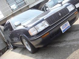 トヨタ クラウンワゴン 2.0ワゴン スーパーデラックス ベンチコラムAT公認8人乗ローダウン