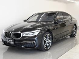BMW 7シリーズ 750i Mスポーツ SR レーザL リモートP 液晶キー 元レンタ