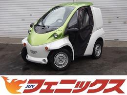 トヨタ コムス B-COMデリバリーOPツートンカラー幌ドア 車検ナシ車庫証明不要100V充電