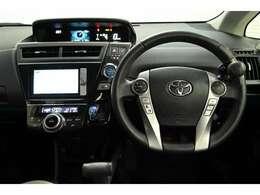 視線移動が少なく済むよう、メーターをセンターに配置! デジタル表示でとても見やすく安全運転のお役に立ちます☆