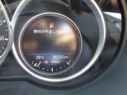 走行距離は約2.5万キロと少なめです。新車保証を継承してお渡しします!