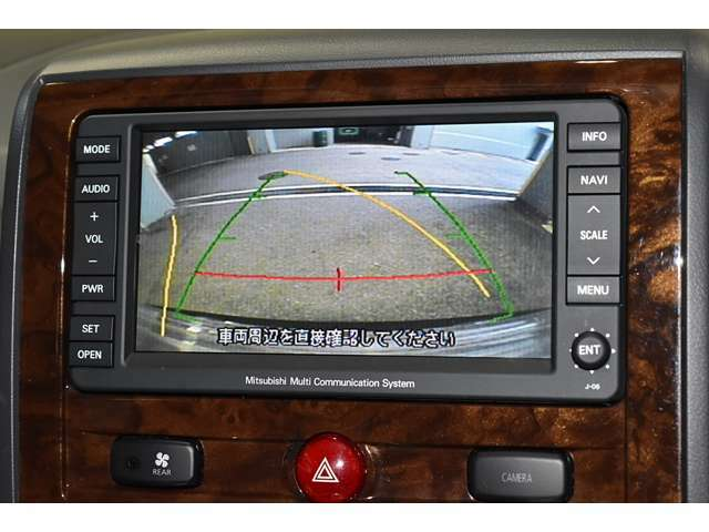 バック連動のモニターを装備☆シフトレバーをバックに入れるとモニターに表示■後方視界は良好で車庫入れをしっかりサポートします。
