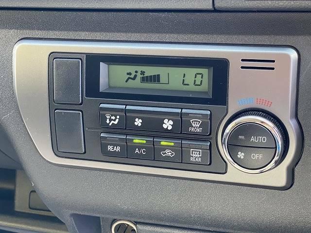 オートエアコン搭載☆設定した温度に自動調節し快適な車内にします♪