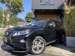 レクサス RXハイブリッド 450h バージョンL エアサスペンション 4WD ベージュ革・Fエアロ・メーカーナビ・HUD