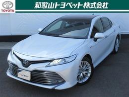 トヨタ カムリ 2.5 G レザーパッケージ メーカーナビ