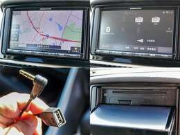 レンタカー専用の三菱電機製メモリーナビ『NR-MZ005』付き。チューナーレスですのでテレビの視聴はできません。またステアリングリモコンのご操作できませんのでご了承下さい。