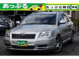 トヨタ アベンシスワゴン 2.0 Xi 純正メーカーナビ ローダウン 18AW