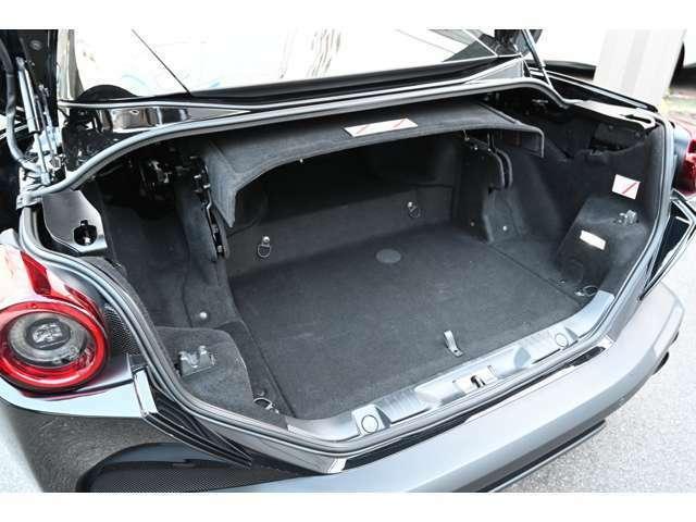 開口部も大きく、トランクスルーの使いやすいトランクです
