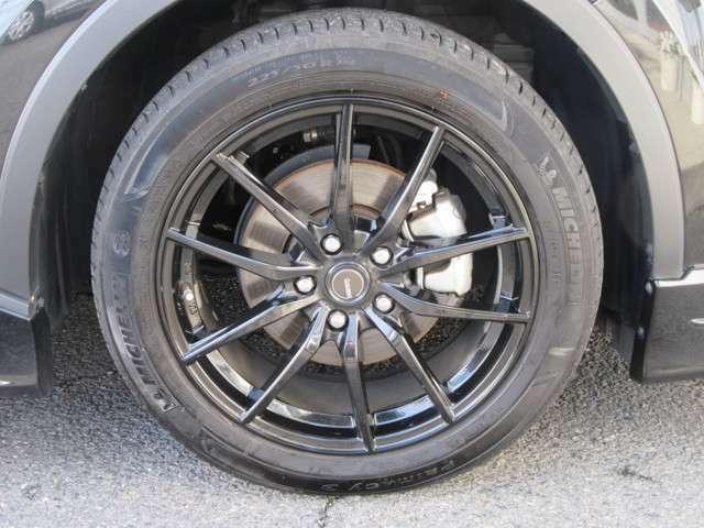 社外アルミホイール タイヤサイズ225/50R18