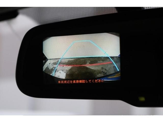 メーカーオプションの自動防舷インナーミラー!バックカメラ映像が映ります!
