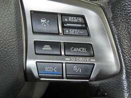高速道路などを一定速度で走行出来便利なクルーズコントロール