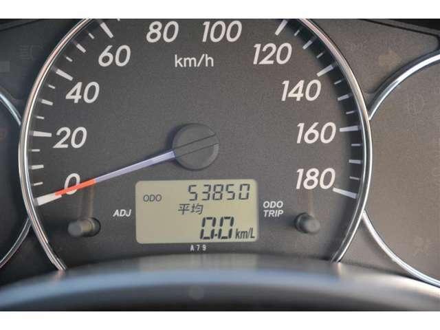 ■走行距離は約54,000kmです。