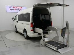 トヨタ ハイエースバン 2.0 ウェルキャブ Cタイプ ロング 福祉車両 ドラレコ オートステップ