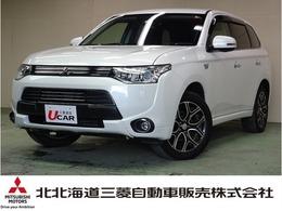 三菱 アウトランダーPHEV 2.0 スポーツ スタイル エディション 4WD 電気温水式ヒーター 100V電源 純正ナビ