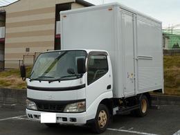 トヨタ ダイナ 4.0Dターボ全低床アルミバン 2トン積み 5MT フル装備 ラッシング2段