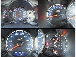 中央にスピード表示を配置しt見やすいメーター!!
