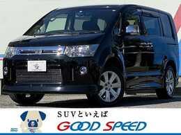 三菱 デリカD:5 2.4 ローデスト G プレミアム 4WD 純正SDナビ 電動リアゲート Bカメ 両側電動