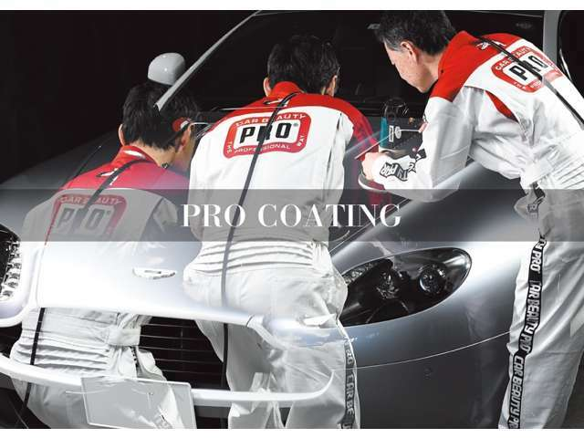 Aプラン画像:LEXUS新車コーティング(純正オプション)や欧州輸入車ディーラー新車施工専任店による確かな技術でお応えします。(磨き上げ工程~コーティング被膜形成~艶出し仕上工程)当店でお買い求め頂いた方へ推奨します。