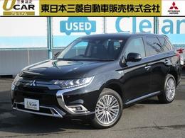 三菱 アウトランダーPHEV 2.4 G 4WD ワンオ-ナ- 後側方車両検知 障害物センサ-