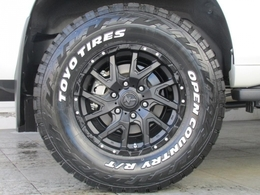 新品ナイトロパワーデリンジャー17インチAWに新品TOYOオープンカントリーRTタイヤの組み合わせ!