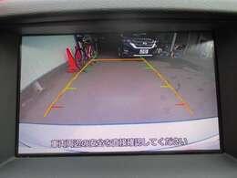 バックカメラ付きで車庫入れも安心!