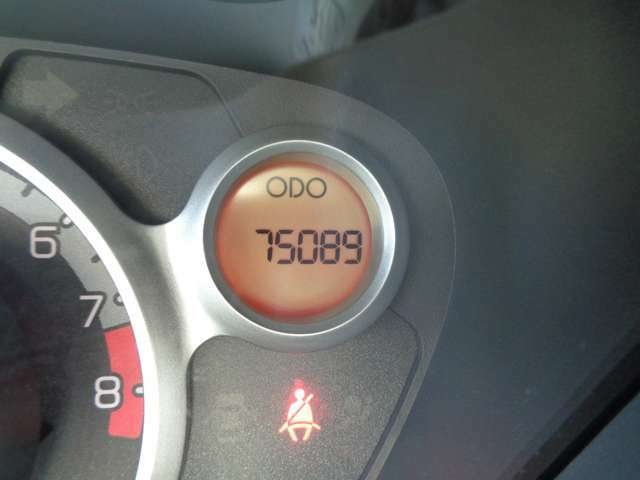 走行距離75089km!