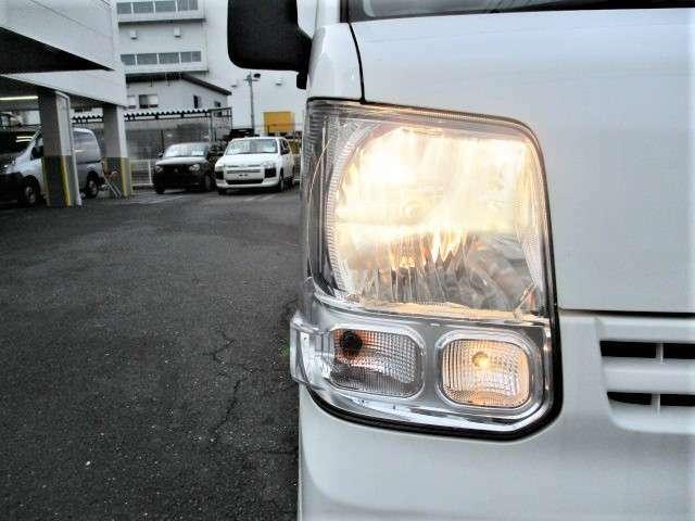 LEDヘッドライトに変更もできます!さらに明るく照らすことができます!