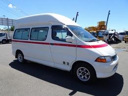 トヨタ グランビア 患者搬送車 輸送車 2WD 7人乗り 防振ベッド付 AT ガソリン車