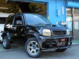 スズキ ジムニー 660 XC 4WD エンジン・エアロカスタム・5速MT車