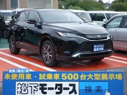 トヨタ ハリアー 2.0 G ディスプレイオーディオ 登録済未使用車