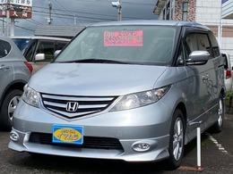 ホンダ エリシオン 2.4 G エアロ HDDナビパッケージ 8人乗り/ワンオーナー車