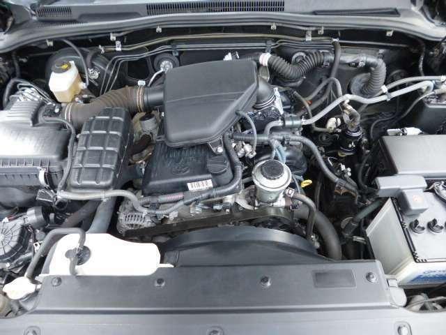 ☆従来のサーフのエンジンに比べ21系中期、後期の『2TR』は燃費、トルクともに向上!車両重量の重さを克服しております(^-^)