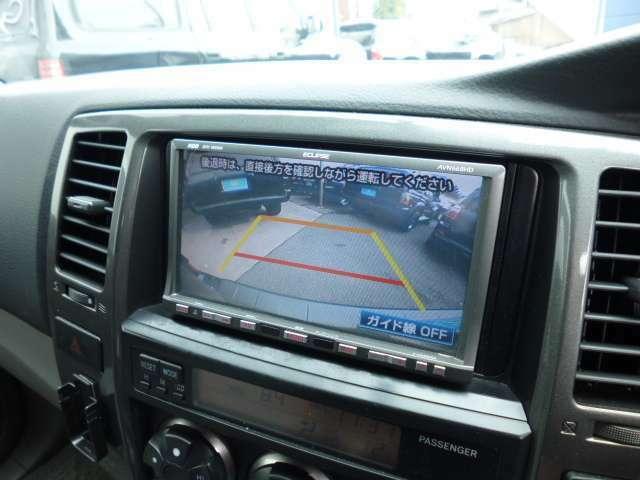 ☆バックカメラも装備しており、死角の後ろの確認もバッチリ!駐車も楽々です!