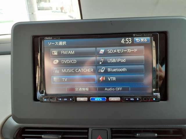 ☆フルセグTV・CD・DVD・Bluetooth