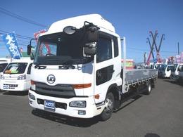 UDトラックス コンドル 積載3700kg-アルミブロック-6.2m ベッド付キャビン・ナビ・Bモニター