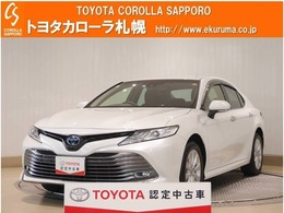 トヨタ カムリ 2.5 G E-Four 4WD 試乗車UP・トヨタセーフティセンス付