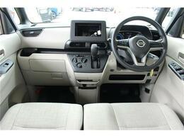 前席全体 目線も高く広い視界で安心して運転することができます!