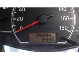 走行距離25694km